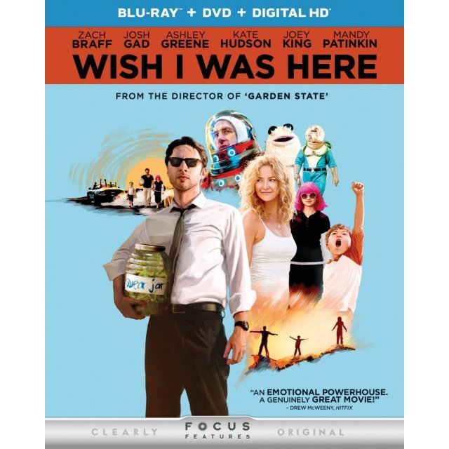 Wish I Was Here [Blu-ray+DVD+Digital Copy]
