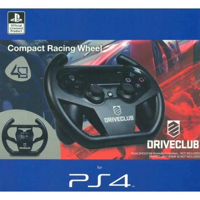 Compact Racing Wheel for Playstation 4 [Driveclub Edition]