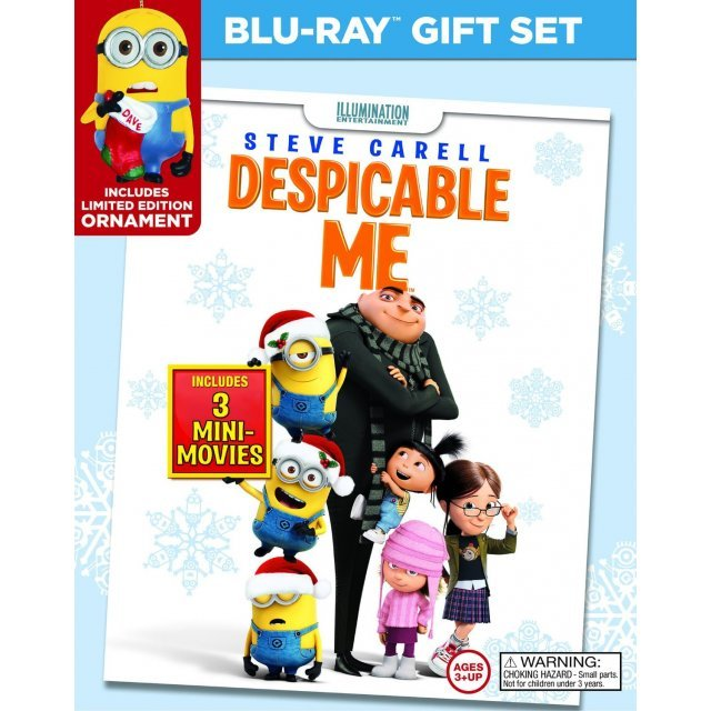 Despicable Me [Blu-ray+DVD+Digital Copy+UltraViolet]