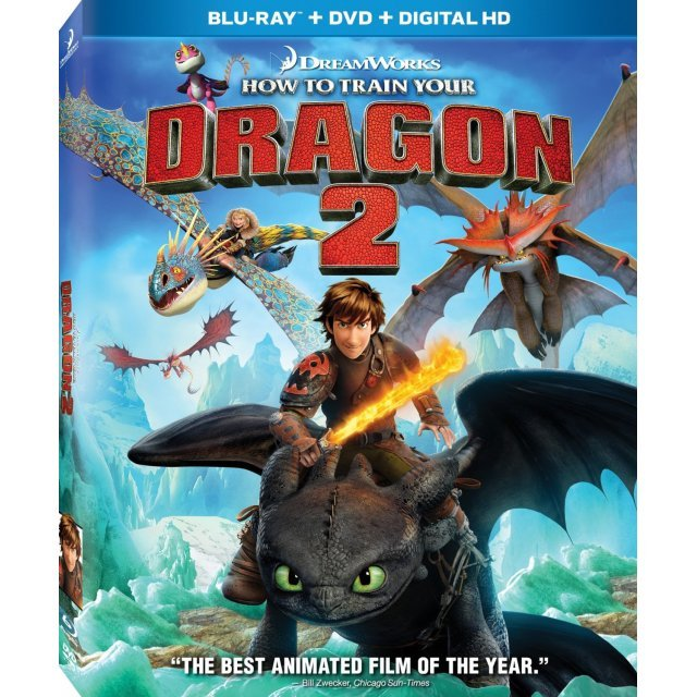 How to Train Your Dragon 2 [Blu-ray+DVD+Digital HD]