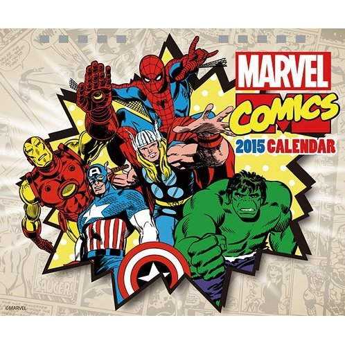 Marvel Comics Tabletop Calendar [2015]