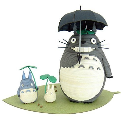 Miniatuart Kit Studio Ghibli Series My Neighbor Totoro: Totoro