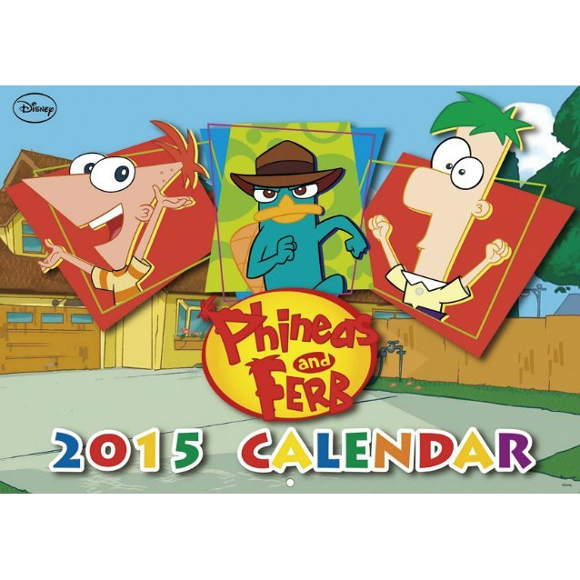 Phineas and Ferb [Calendar 2015]