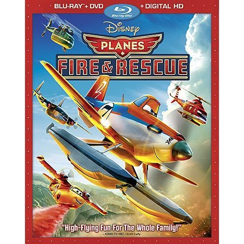 Planes: Fire & Rescue [Blu-ray+DVD+Digital Copy]
