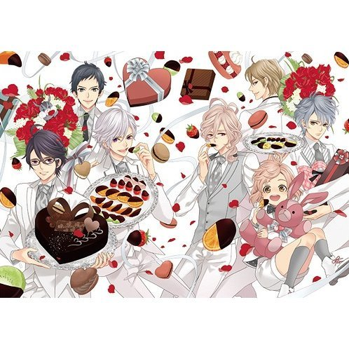 Brothers Conflict Second Volume - Honmei Deluxe Edition [Blu-ray+CD Limited Edition]