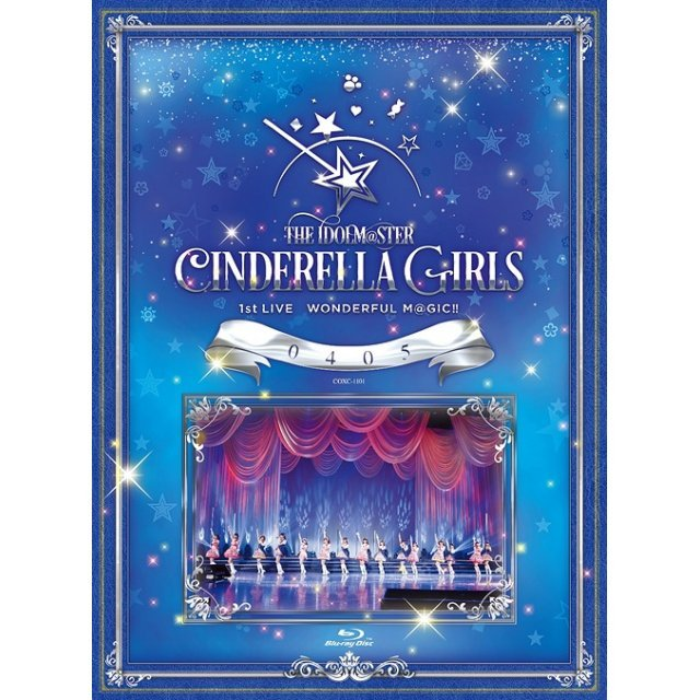 Idolm@ster Cinderella Girls 1st Live Wonderful M@gic 0405