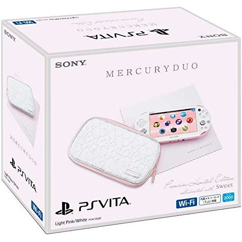 Playstation Vita Mercuryduo Premium Limited Edition (Light Pink White)