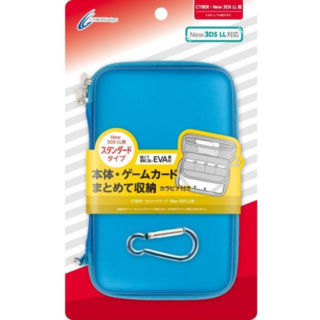 Semi Hard Case for New 3DS LL (Blue)