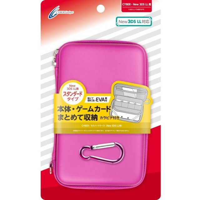 Semi Hard Case for New 3DS LL (Pink)