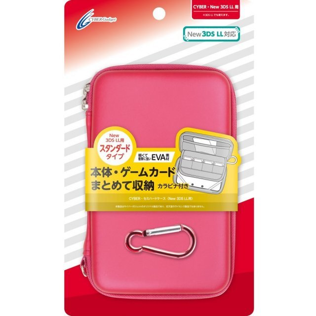 Semi Hard Case for New 3DS LL (Red)