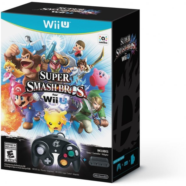 Super Smash Bros. for Wii U GameCube Controller Bundle Set