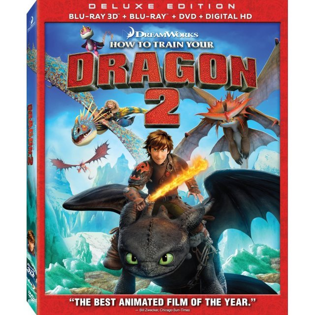 How to Train Your Dragon 2 (Deluxe Edition)