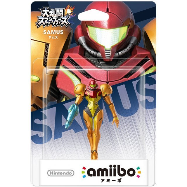 amiibo Super Smash Bros. Series Figure (Samus)