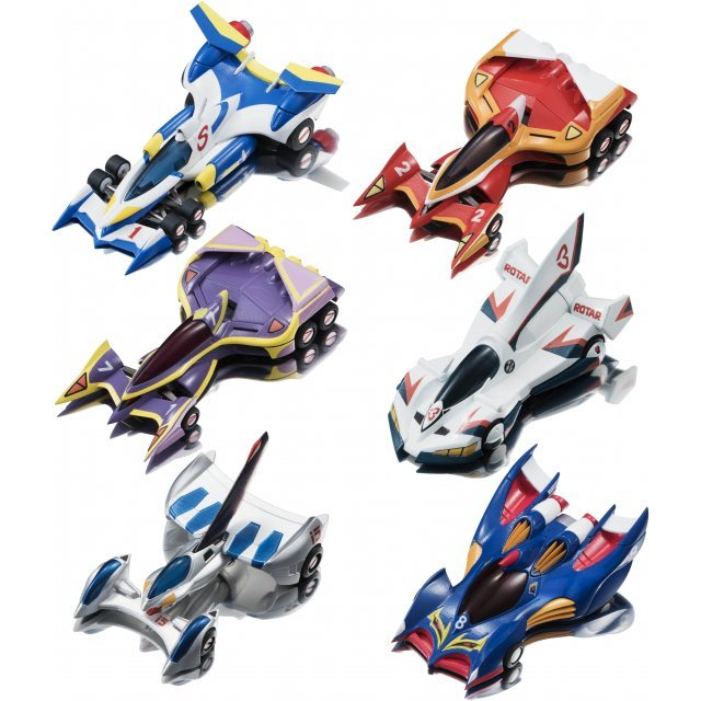 C.F.C. Cyber Formula Collection Vol.3 OVA Edition (Set of 6 pieces)