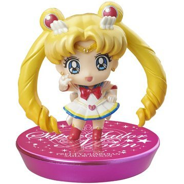 Petit Chara! Series Sailor Moon: New friends and Make-up! Glitter Ver. (Set of 6 pieces)