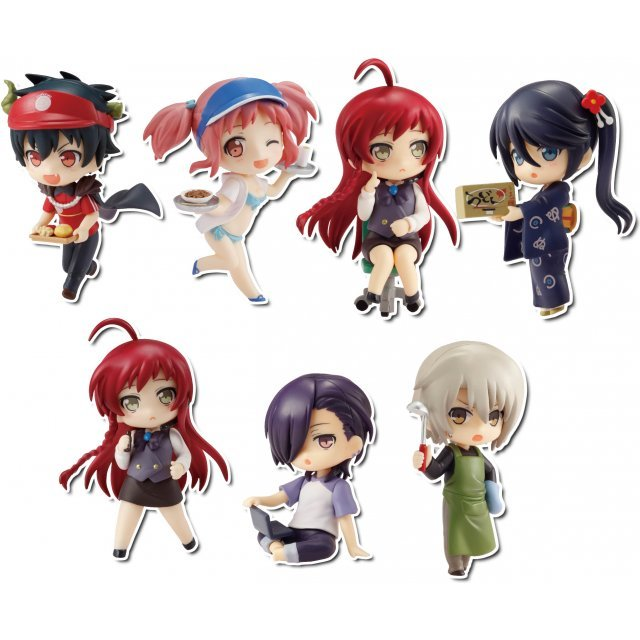 Toys Works Collection 2.5 Deluxe Hataraku Mao-sama! (Set of 8 pieces)