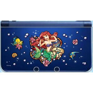 Character Cover for New 3DS LL (Stained Ariel)