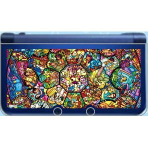 Character Cover for New 3DS LL (Stained Glass)