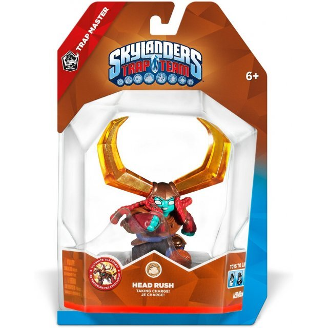Skylanders Trap Team Character Pack: Trap Master Head Rush
