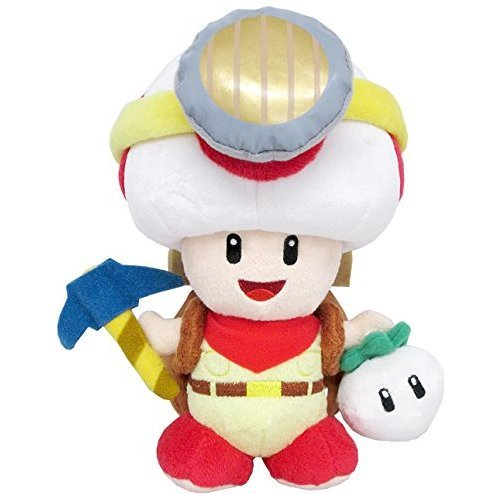 Super Mario Plush: Standing Captain Toad