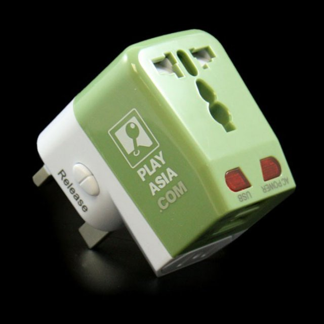 Play-Asia.com USB Travel Power Adapter (US/EU/UK/AU plug)
