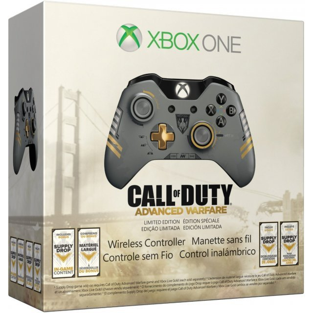 Xbox One Wireless Controller [Call of Duty: Advanced Warfare Limited Edition]