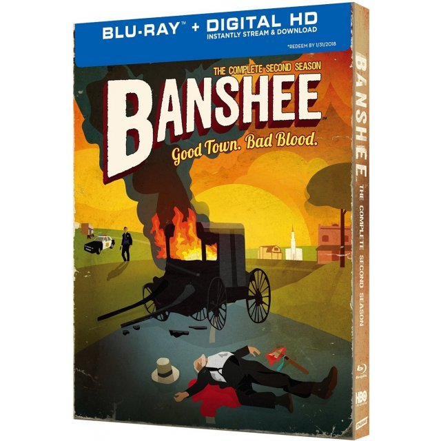 Banshee: The Complete Second Season [Blu-ray+Digital Copy+UltraViolet]