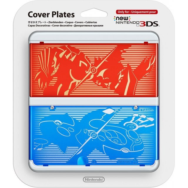 New Nintendo 3DS Cover Plates No.040 (Pokemon Omega Ruby / Alpha Sapphire)