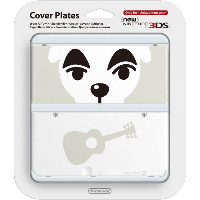 New Nintendo 3DS Cover Plates No.041 (Animal Crossing Totakeke)