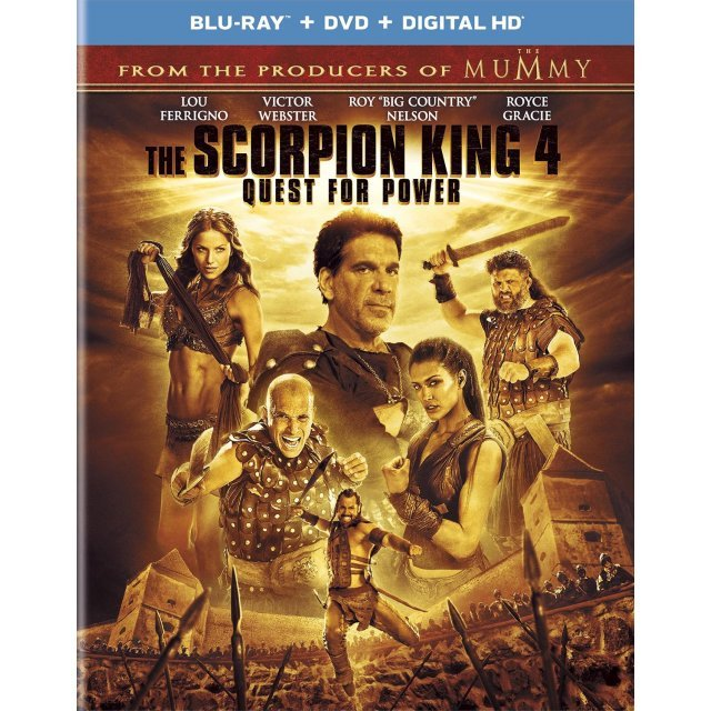 The Scorpion King 4: Quest for Power [Blu-ray + DVD+Digital Copy+UltraViolet]
