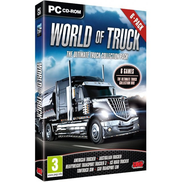 World of Truck - The Ultimate Truck Collection 6 Pack (DVD-ROM)