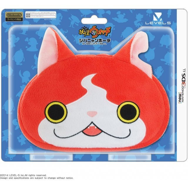 Youkai Watch Jibanyan Pouch for New Nintendo 3DS LL