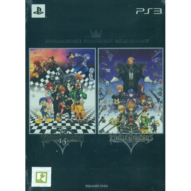 Kingdom Hearts HD 1.5+2.5 ReMix [Limited Edition]  (English)