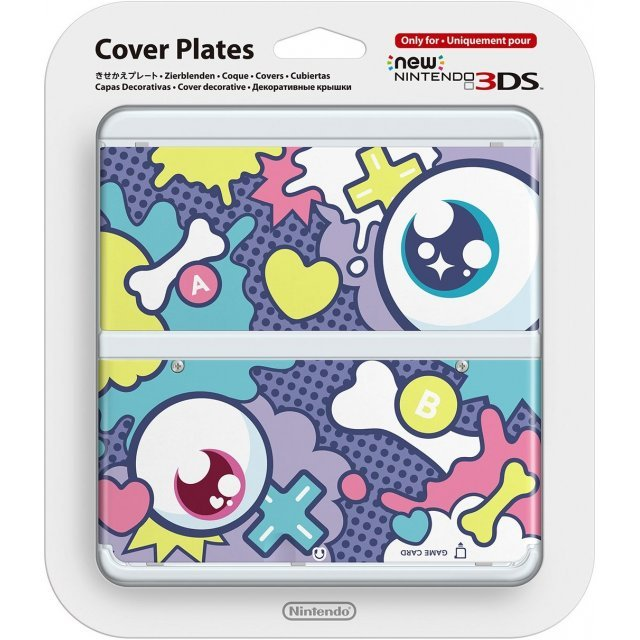 New Nintendo 3DS Cover Plates No.052 (Kyarypamyupamyu Design Eyeball)