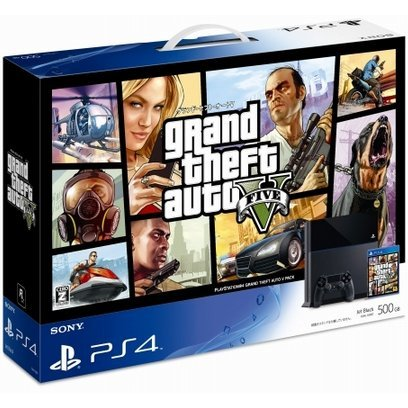 PlayStation 4 System [Grand Theft Auto V Pack]