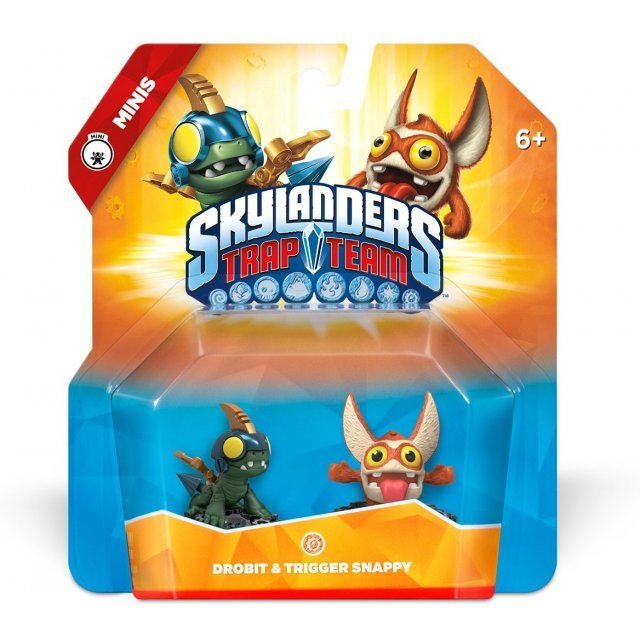 Skylanders Trap Team: Drobit & Trigger Snappy - Mini Character 2 Pack