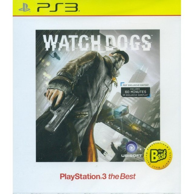 Watch Dogs (Playstation 3 the Best) (English)