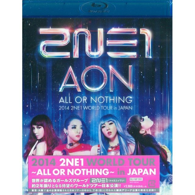 2014 2ne1 World Tour -All Or Nothing In Japan