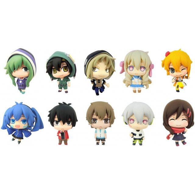 Color Collection Mekaku City Actors (Set of 10 pieces)
