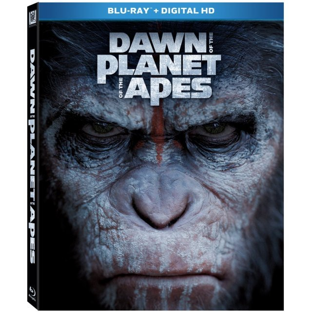 Dawn of the Planet of the Apes [Blu-ray+Digital HD]