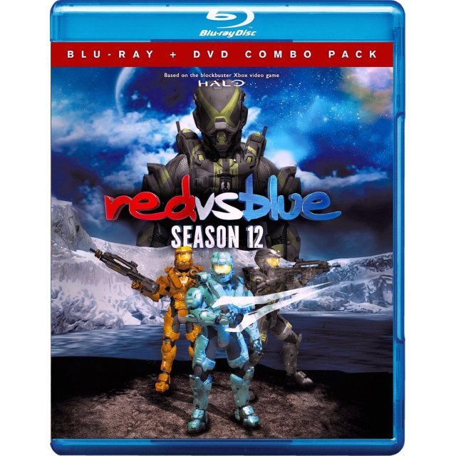 Red vs. Blue: Season 12 [Blu-ray+DVD]