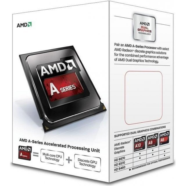 AMD A4-7300, 2x 3.80GHz, boxed