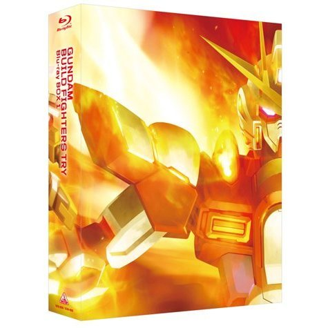 Gundam Build Fighters Try Blu-ray Box 1 Standard Edition [Limited Edition]