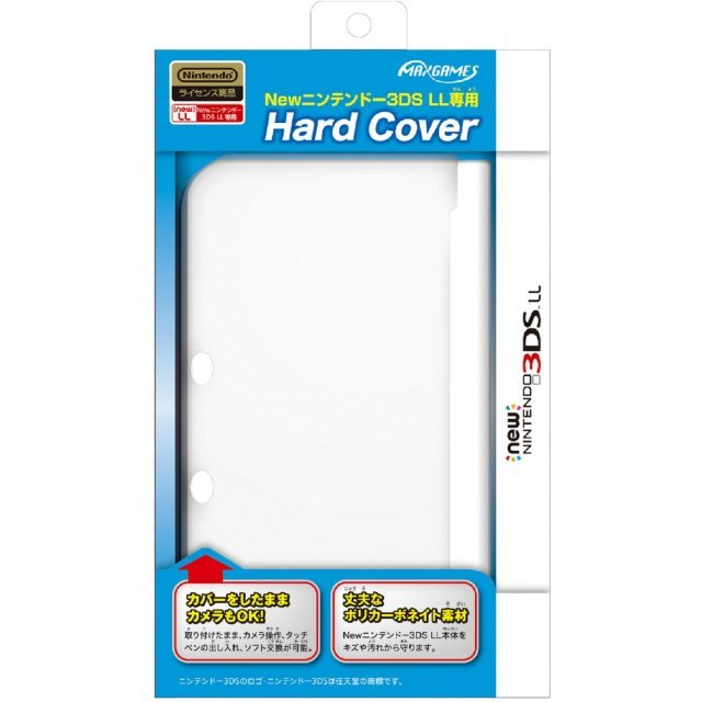 Hard Cover for New 3DS LL (Clear)