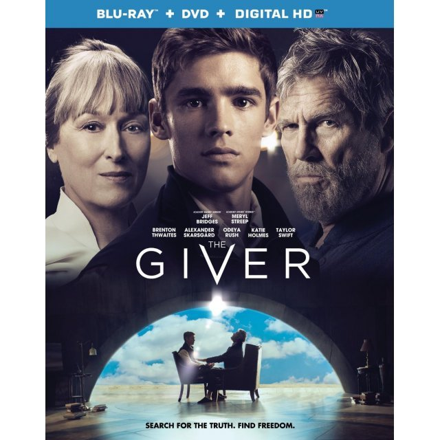 The Giver [Blu-ray+DVD+Digital HD]