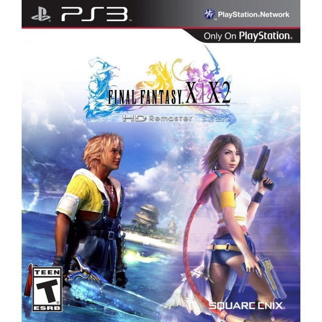 Final Fantasy X / X-2 HD Remaster (Minor damage cover)