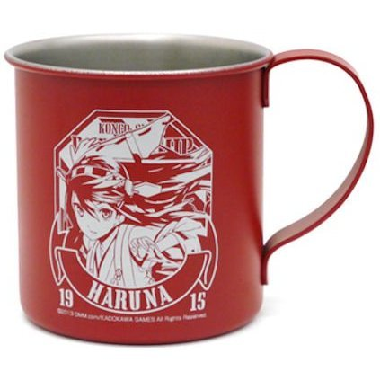 Kantai Collection Stainless Mug Cup: Haruna (Re-run)