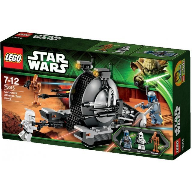 Lego Star Wars: Corporate Alliance Tank Droid