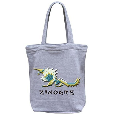 Monster Hunter Airou G Class Pukkuri Tote Bag: Zinogre