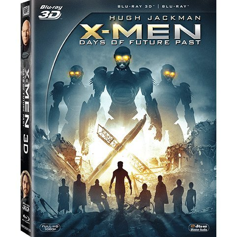 X-men: Days of Future Past [3D+2D+Comic Book]